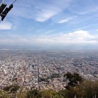 Photo taken at Cerro San Bernardo by Fernando C. on 6/18/2012