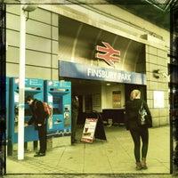 Photo taken at Finsbury Park Railway Station (FPK) by John K. on 2/14/2012