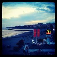 Photo taken at Playa de Torviscas by David C. on 5/23/2012