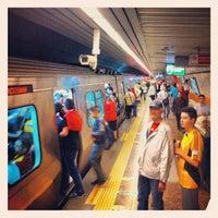 Photo taken at 4. Levent Metro İstasyonu by Orçun on 5/6/2012