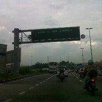 Photo taken at Exit 1404A/B/C Pandan Interchange by Hasliza on 2/27/2012