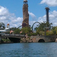 Photo taken at Islands Of Adventure Lighthouse by TheDigitalDoctr on 8/4/2012