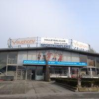 Photo taken at Volley Asse Lennik by Pieter K. on 4/14/2012