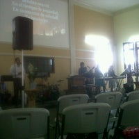 Photo taken at Iglesia Bautista Central by Eimy M. on 8/5/2012