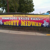 Photo taken at Minnesota State Fairgrounds by Emily L. on 8/23/2012