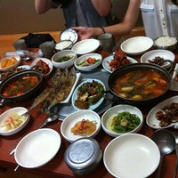 Photo taken at 흥덕식당 by Noh S. on 7/1/2012