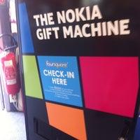 Photo taken at Nokia Gift Machine @ App Campus – Disrupt San Fran by Robert S. on 6/19/2012