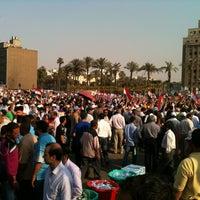 Photo taken at Tahrir Square by Hussein M. on 6/5/2012