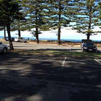 Photo taken at Mona Vale Beach by Outnabout on 5/21/2012