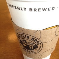 Photo taken at Einstein Bros Bagels by Manzoorul H. on 8/21/2012