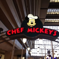 Photo taken at Chef Mickey's by Andrea on 7/5/2012