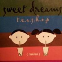 Photo taken at Sweet Dreams Teashop by U-ni L. on 2/12/2012