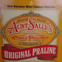Photo taken at Aunt Sally's Pralines by Ashley P. on 4/25/2012