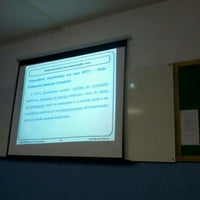 Photo taken at Colégio Técnico Industrial de Santa Maria - CTISM by Rogerio P. on 3/16/2012