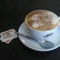 Photo taken at Caffè Nero by Hellvi P. on 9/7/2012