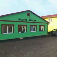Photo taken at Krufin by Zdenek K. on 3/28/2012