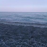 Photo taken at Velika Beach by A K. on 8/4/2012