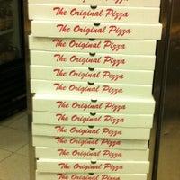 Photo taken at Original Pizza by drockgem on 8/12/2012