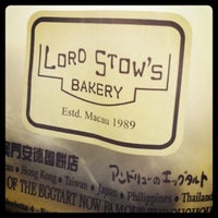 Photo taken at Lord Stow's Bakery by Kerwin on 5/30/2012
