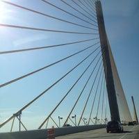 Photo taken at Sunshine Skyway Bridge by Kurtis M. on 4/28/2012