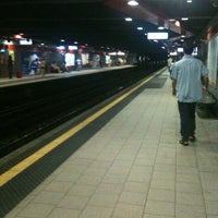 Photo taken at Metro Loreto (M1, M2) by Andrea F. on 8/5/2012