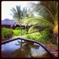 Photo taken at Spa at Four Seasons Resort Mauritius at Anahita by Alex Z. on 8/3/2012