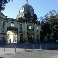 Photo taken at Praça XV de Novembro by Thyaggo M. on 7/27/2012