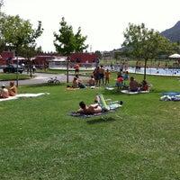 Photo taken at Camping Iratxe - Ciudad de Vacaciones by Unai on 8/20/2012