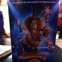 Photo taken at CineMundo by Vane S. on 6/29/2012