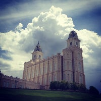Photo taken at Manti Utah Temple by Bryce R. on 7/12/2012