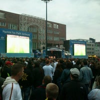 Photo taken at Friedensplatz by Elias F. on 6/13/2012