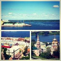 Photo taken at Nizhny Novgorod by София К. on 6/21/2012