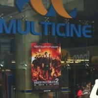 Photo taken at Multicine by Ninoska D. on 8/25/2012