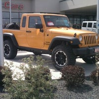 Photo taken at Peterson Stampede Dodge Chrysler Jeep by Zac A. on 4/10/2012