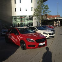 Photo taken at Mercedes-Benz Niederlassung München by Josef Max H. on 8/22/2012