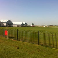 Photo taken at Sywell Airport by Joanne M. on 4/1/2012