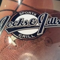 Photo taken at Jocks & Jills Sports Grill by LA Lynn's on 8/17/2012