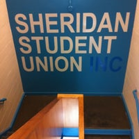 how to go upstairs student union sheridan oakville