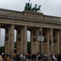 Photo taken at Pariser Platz by Robert on 5/5/2012