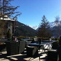 Photo taken at Hôtel Bella-Tola by Finn A. on 3/13/2012