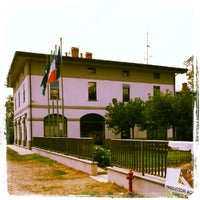 """Photo taken at Parco Ticino Sq. Tornavento """"Dogana"""" by Luca P. on 7/10/2012"""