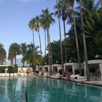 Photo taken at Delano South Beach by Julia O. on 8/21/2012
