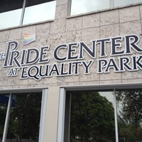 Photo taken at Pride Center at Equality Park by Rory C. on 6/20/2012