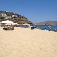Photo taken at Panormos Beach by Efi S. on 6/26/2012