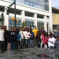 Photo taken at Harvey B. Gantt Center for African-American Arts + Culture by Alyssa R. on 2/18/2012