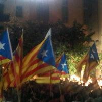 Photo taken at Fossar de les Moreres by Albert V. on 9/10/2012