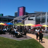 Photo taken at Googleplex - Charlie's Cafe by Shane C. on 6/1/2012
