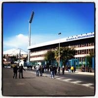 "Photo taken at Stadio Cibali ""Angelo Massimino"" by Raffaele G. on 3/18/2012"