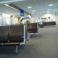 Photo taken at Terminal E by Ewelina U. on 6/14/2012