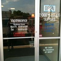Photo taken at Vaporescence by Technospunky on 5/15/2012
